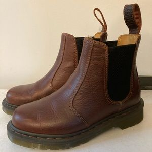 Doc Martens Brown Leather Chelsea Ankle Boots 6